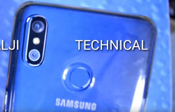 48 megapikselin kameralla varustettu Samsung vuoti videolla?