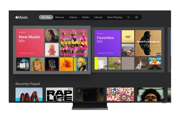 Apple Music -sovellus toimii nyt Samsungin älytelevisioissa