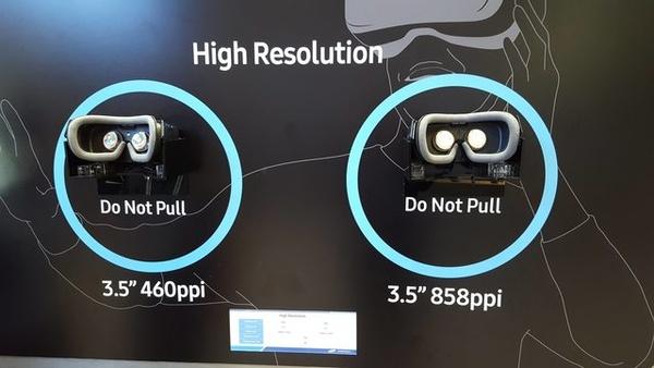 Samsung on esitellyt liki kaksi kertaa tarkempaa VR-näyttöä