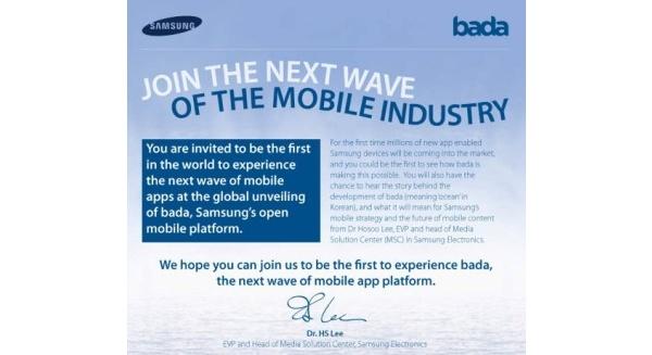 Samsung lanseeraa bada-käyttöjärjestelmänsä 8. joulukuuta