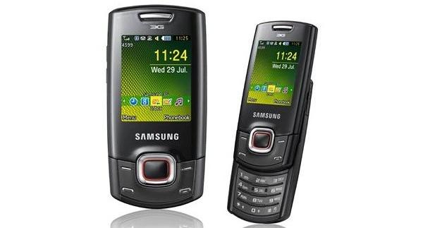 Samsungilta tulossa edullinen C5130-3G-liukukansipuhelin