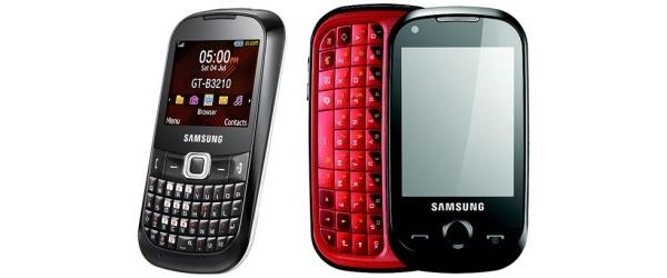 Samsung julkisti CorbyTXT- ja CorbyPRO-puhelimet
