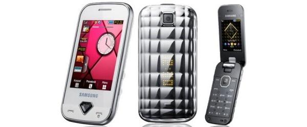 Samsung julkisti Diva-tyylipuhelimensa, S7070:n ja S5150 folderin