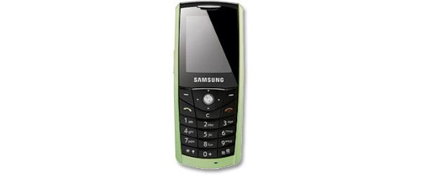 Samsungilta ympäristöystävällinen E200 Eco -puhelin