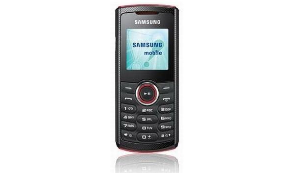Samsungilta tulossa E2120 - edullinen, yksinkertainen puhelin