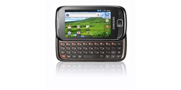 Samsungilta ensimmäinen QWERTYllinen Android-luuri