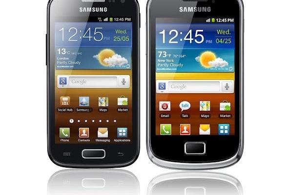 Samsung julkisti Galaxy-kaksikon