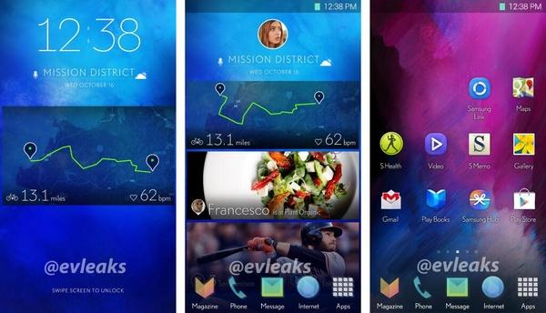 Kuvia Samsungin uudesta käyttöliittymästä vuoti jälleen