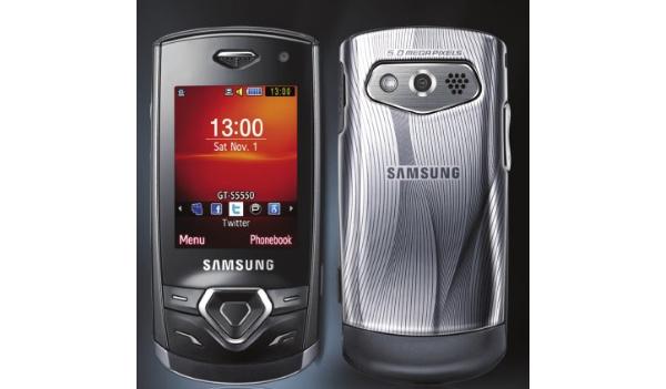 Julkaisematon Samsung S5550 ilmestyi kuvastoon
