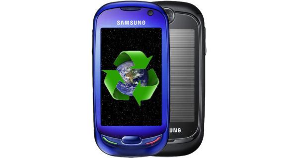 Samsungin Blue Earth -aurinkokennopuhelin saapumassa markkinoille
