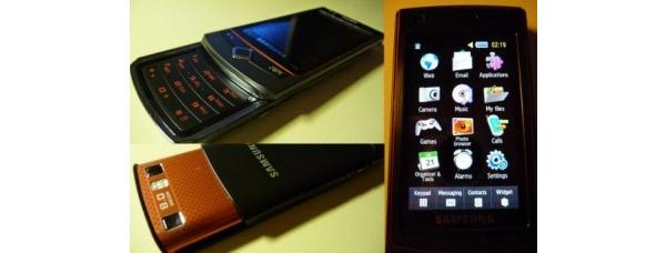 Samsungilta tulossa vakuuttava S8300-liukukansipuhelin