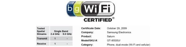 Samsungilta tulossa Androidilla varustettu Saturn i6500