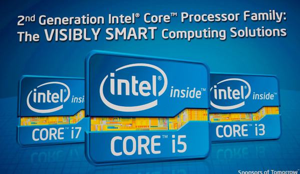 Intel esitteli Sandy Bridgeä