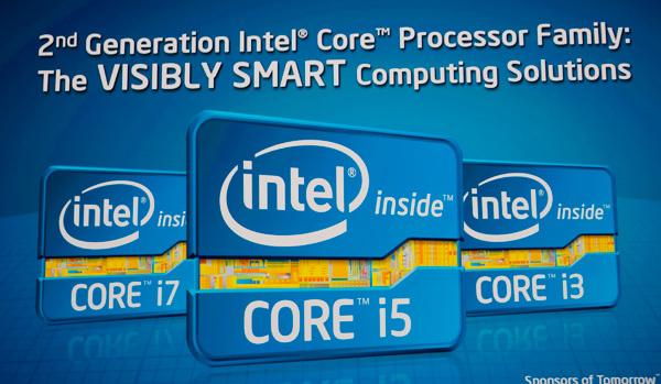 Intel päivittää Sandy Bridge -suoritinmallistoaan