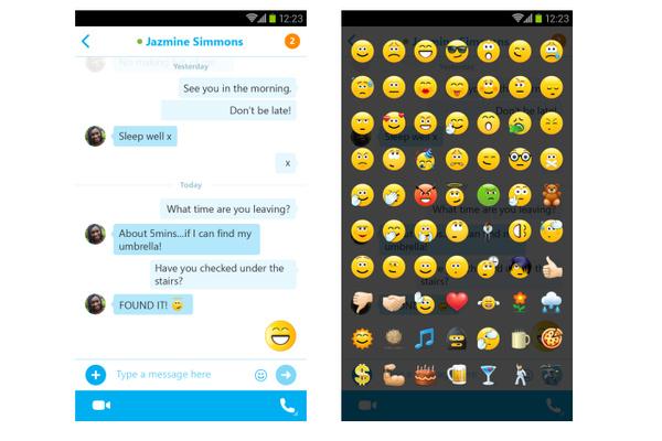 Skypen Android-versio päivittyi uusilla ominaisuuksilla
