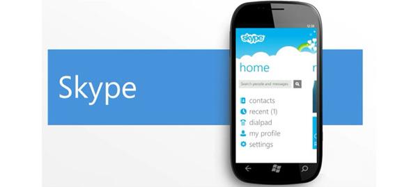 Skype-puhelut tulevat pian Windows Phonelle