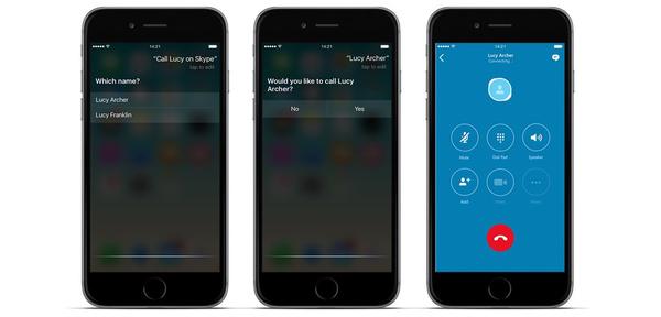 Skype päivittyi iPhonelle, tukee iOS:n uusia ominaisuuksia