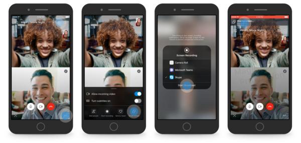 Skype päivittää iOS- ja Android-sovelluksen: Tuki näytön jakamiselle