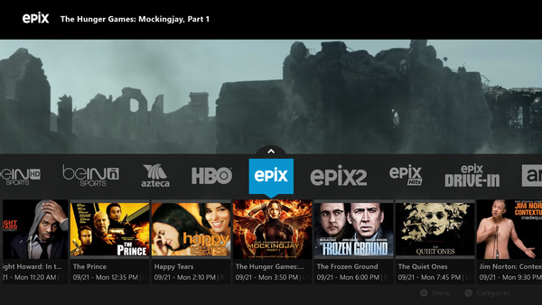Sling TV announces UI update for Xbox One