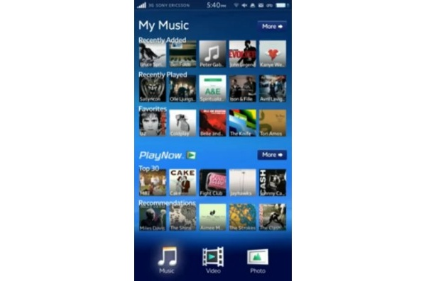 Videolla: Sony Ericssonin Android-puhelimen mielenkiintoinen käyttöliittymä