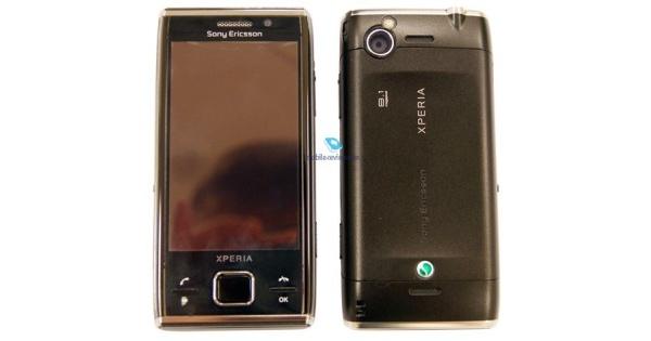 Sony Ericssonin XPERIA X2 ensikatsauksessa
