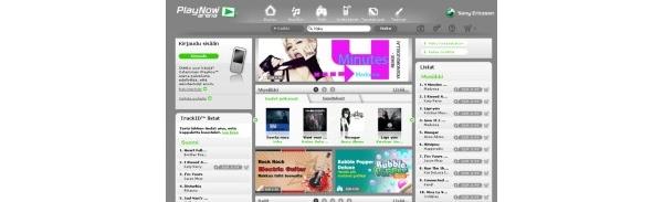 Sony Ericssonin musiikkikauppa avautui