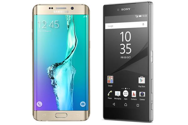 Kumpi voittaa Samsung Galaxy S6 Edge+ vai Sony Xperia Z5 Premium?
