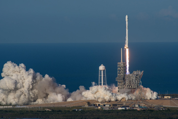WATCH: SpaceX relaunches landed rocket booster