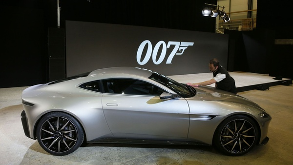 Early script for latest James Bond film, 'SPECTRE,' was stolen in Sony Pictures hack