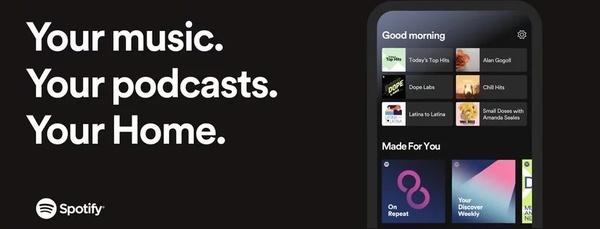 Spotify uudisti kotinäkymää – suosittelee vuorokauden ajan mukaan