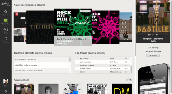 Spotify browser Web player beta now available to UK users