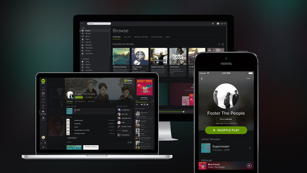 Spotify adding users at brisk pace in UK