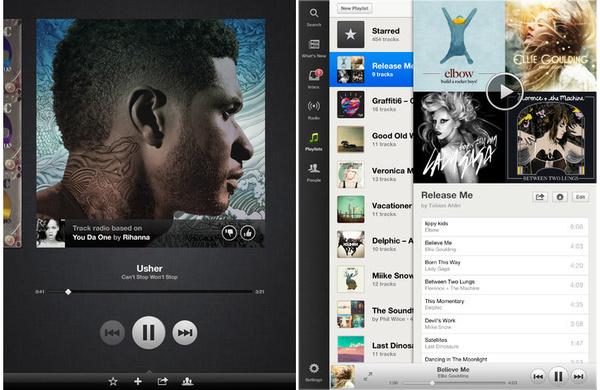 Uusi versio Spotifystä julkaistiin iOS:lle