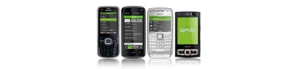 Spotify päivitti Symbian- ja Android-sovelluksiaan