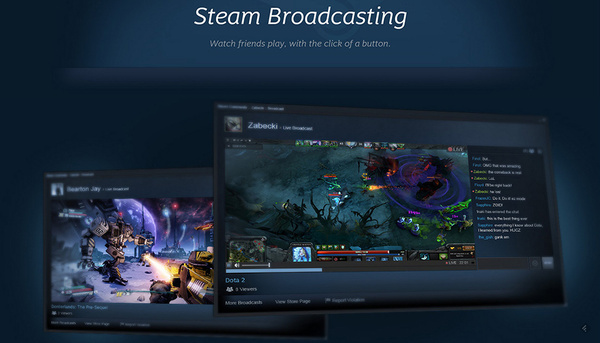 Valve unveils a rival to Twitch and game video streaming