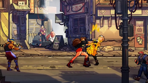WATCH: Streets of Rage 4 Reveal Trailer
