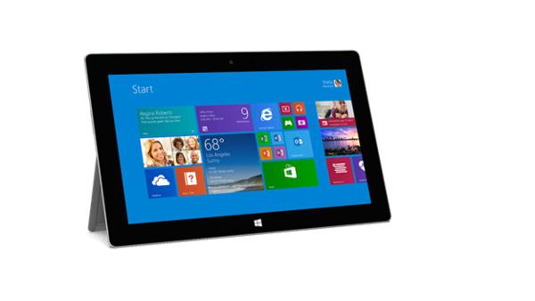 Testissä Surface 2: Microsoftin tabletin toinen tuleminen