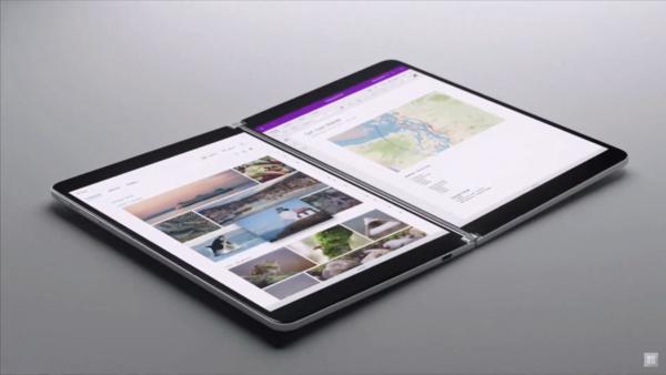 Microsoft esitteli tulevaisuuden taittuvan tabletin: Tällainen on Surface Neo