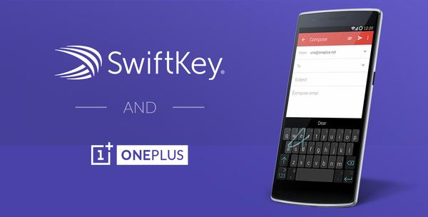 Suosittu SwiftKey-näppäimistö ja OnePlus yhdistivät voimansa