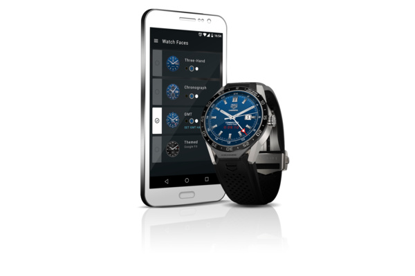Yli 1000 euron Android-älykello: TAG Heuer Connected