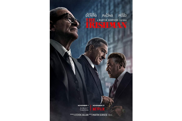 Over 26 million accounts watched 'The Irishman' on Netflix in first week