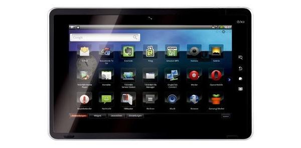 Toshiban Android-tabletti vedettiin myynnistä korkeiden palautuslukujen vuoksi