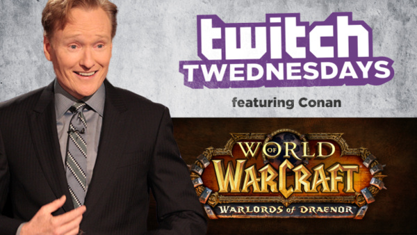 Watch Conan hilariously try out 'World of Warcraft: Warlords of Draenor'