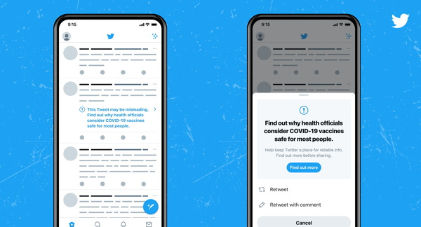COVID-19: Twitter will punish users for vaccine misinformation