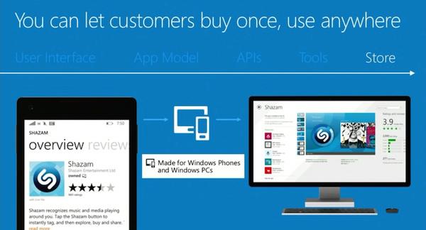 Microsoft avasi ovet universaaleille Windows-sovelluksille