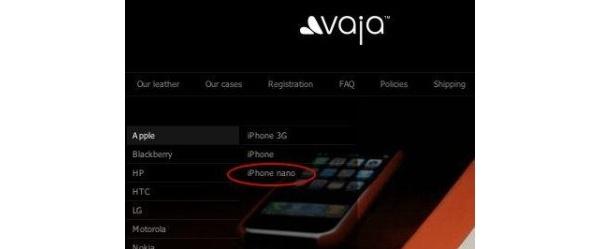 Jo toinen kotelovalmistaja mukaan iPhone nano -saagaan
