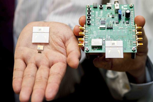 Uusi siru mahdollistaa Bluetoothia 1000 kertaa nopeamman tiedonsiirron