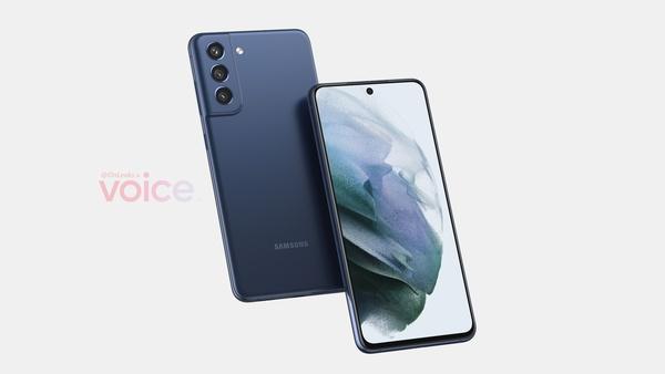Tältä näyttää tuleva Samsung Galaxy S21 FE -puhelin - tasainen näyttö ja takaa muovia