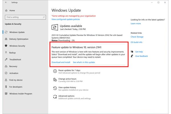 Windows 10 vuoden 2021 kevään päivitys: Tämä kaikki muuttuu 21H1:n myötä