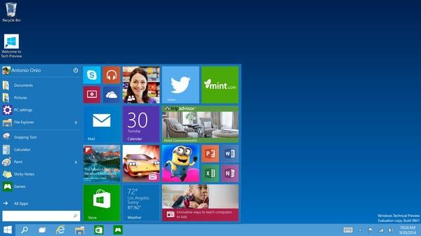 Windows 10:n julkaisuajankohta paljastui